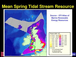 Mean Spring Tidal Stream Resource