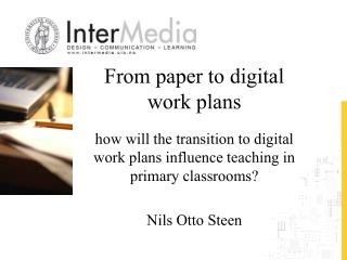 From paper to digital work plans
