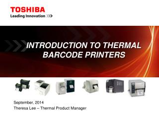 Introduction to Thermal Barcode Printers