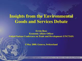"""Environmental Goods and Services"" (EGS)"
