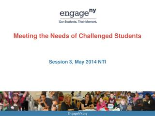 Meeting the Needs of Challenged Students