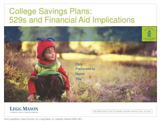 College Savings  Plans: 529s and Financial Aid Implications