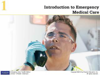 Introduction to Emergency Medical Care 1
