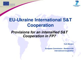 EU-Ukraine International S&T Cooperation