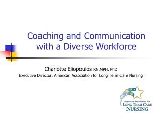 Coaching and Communication with a Diverse Workforce