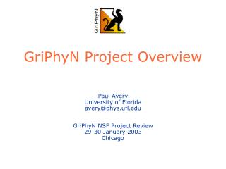 GriPhyN Project Overview