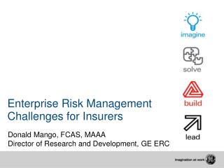 Enterprise Risk Management  Challenges for Insurers