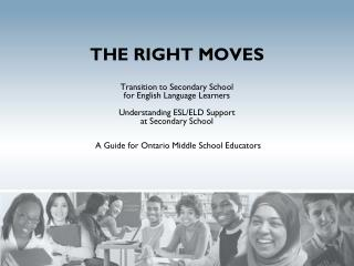 "To help prevent middle school English language learners from becoming    "" LOST IN TRANSITION """