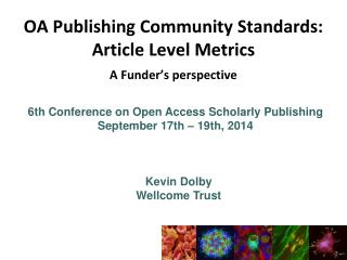 6th Conference on Open Access Scholarly  Publishing September 17th – 19th, 2014