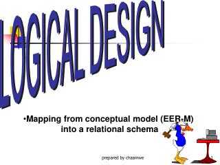 Mapping from conceptual model (EER-M)  into a relational schema