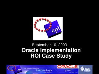 Oracle Implementation ROI Case Study