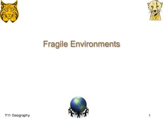 Fragile Environments
