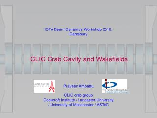 CLIC Crab Cavity and Wakefields
