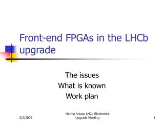 Front-end FPGAs in the LHCb upgrade