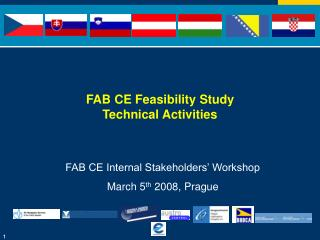 FAB CE Feasibility Study  Technical Activities