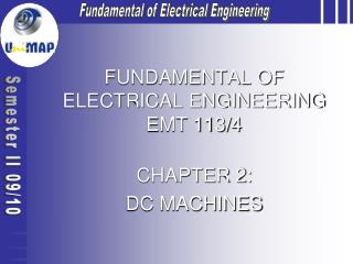 FUNDAMENTAL OF ELECTRICAL ENGINEERING EMT 113/4