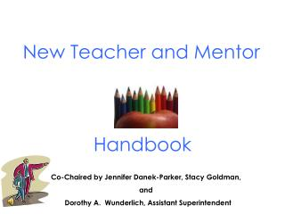 New Teacher and Mentor