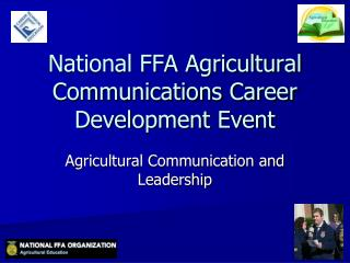 National FFA Agricultural Communications Career Development Event
