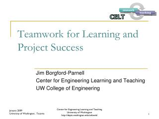 Teamwork for Learning and Project Success