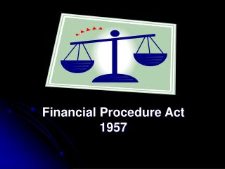 Financial Procedure Act 1957