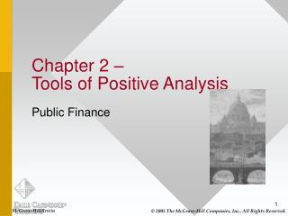 Chapter 2    Tools of Positive Analysis
