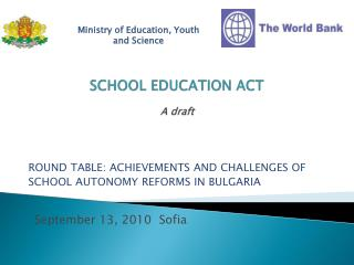 SCHOOL EDUCATION ACT  A draft