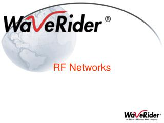 RF Networks
