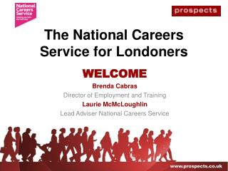 The National Careers Service for Londoners