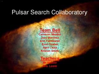 Pulsar Search Collaboratory