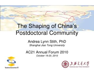 The Shaping of China's Postdoctoral Community