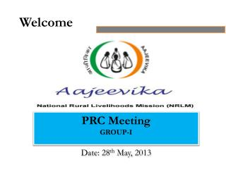 PRC  Meeting GROUP-I Date:  28 th  May, 2013
