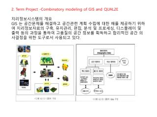 2. Term Project -Combinatory modeling of GIS and QUAL2E