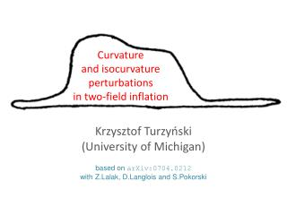Curvature  and  isocurvature perturbations  in two-field inflation