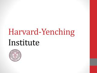 Harvard-Yenching  Institute