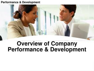 Performance & Development