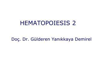 HEMATOPOIESIS 2