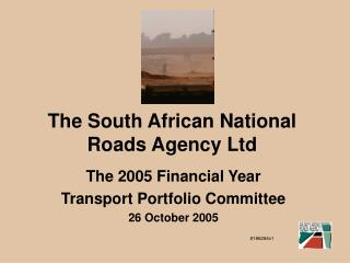 The South African National Roads Agency Ltd