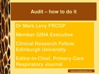 Audit – how to do it