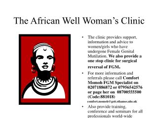 The African Well Woman's Clinic