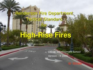 High-Rise Fires