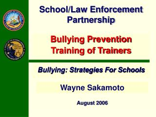 School/Law Enforcement Partnership