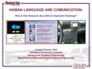HUMAN LANGUAGE AND COMUNICATION: