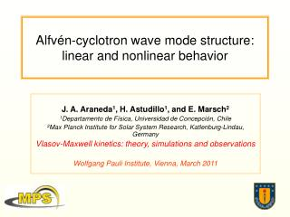 Alfvén-cyclotron  w ave  mode structure: linear and nonlinear behavior