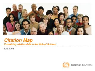 Citation Map Visualizing citation data in the Web of Science