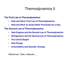 References: Tipler; wikipedia,…