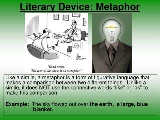 Literary Device: Metaphor