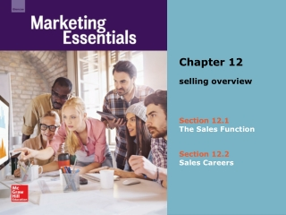 Selling and Sales Careers