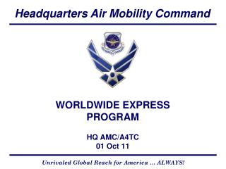 WORLDWIDE EXPRESS PROGRAM