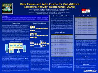 Data Fusion and Auto-Fusion for Quantitative Structure-Activity Relationship (QSAR)