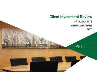 C lient Investment Review
